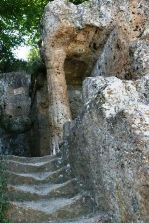 Ricostruzione Tomba Ildebranda di Sovana