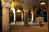 La cripta del Duomo di Sovana