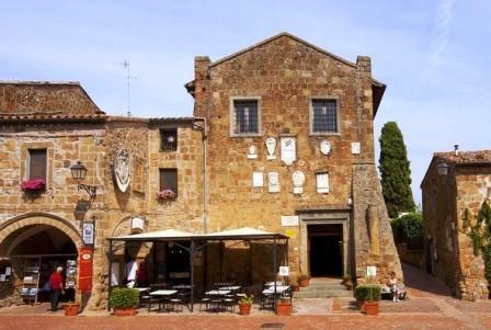 Palazzo Pretorio a Sovana
