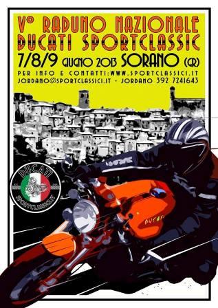 V Raduno Nazionale Ducati SportClassic 7 8 9 Giugno 2013