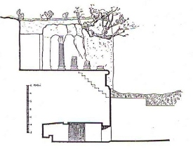 Struttura Tomba Ildebranda di Sovana