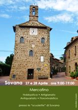 Mercatino di Sovana: hobbystica, artigianato, antiquariato, florovivaistico