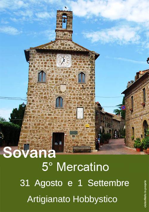 5° Mercatino di Sovana artigianato hobbystico, 31 Agosto e 1 Settembre 2013