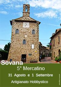 5° Mercatino di Sovana, 31 Agosto e 1 Settembre 2013